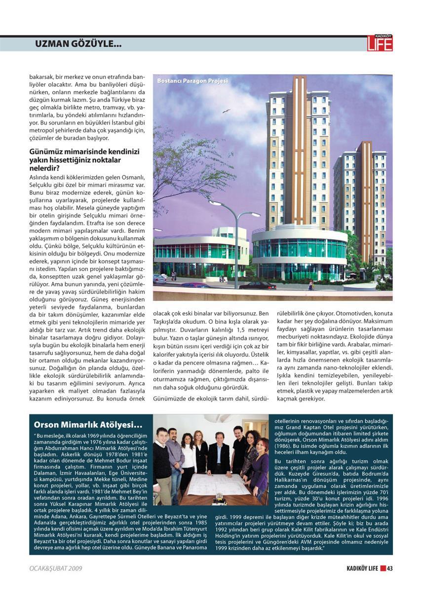 Kadıköy Life Dergisi 25.Sayı